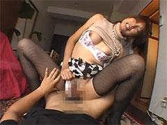 セフレ妻と着衣SEX