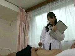 女医の手コキ